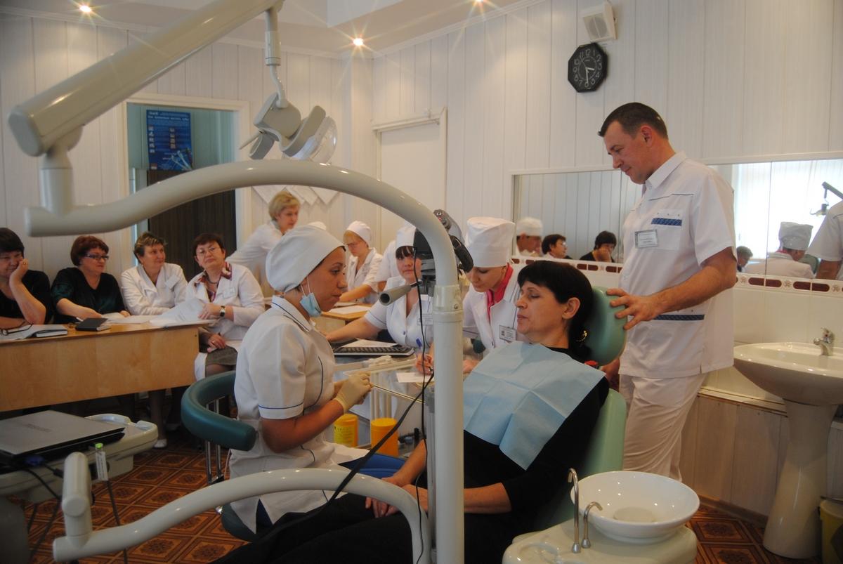 Осмотр пациента в стоматологии цель